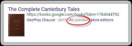 Google Scholar's no preview option