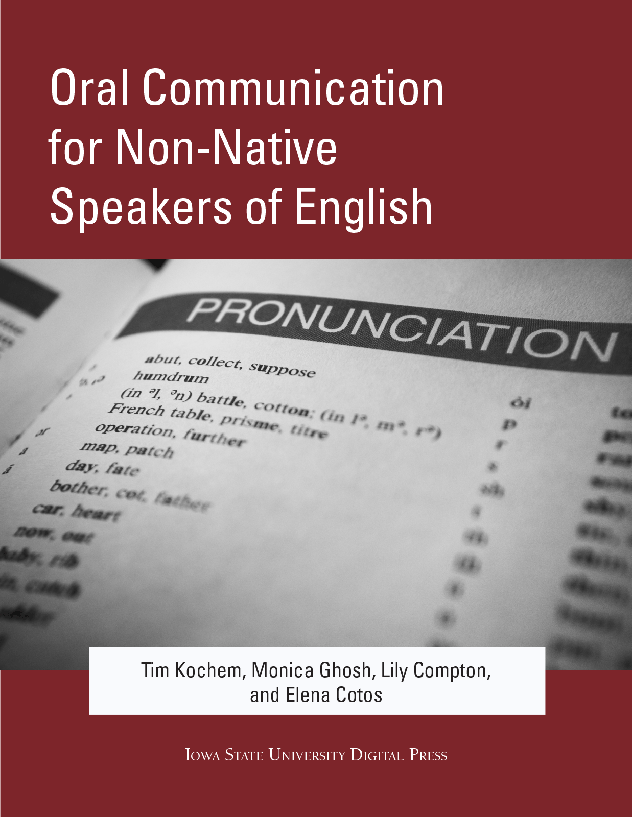 Cover image for Oral Communication for Non-Native Speakers of English