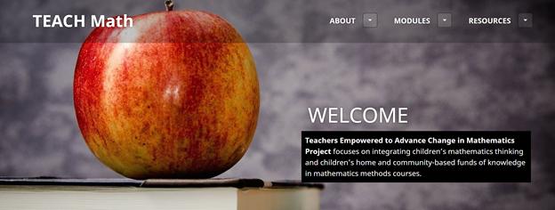 Teachmath homepage at teachmath.info