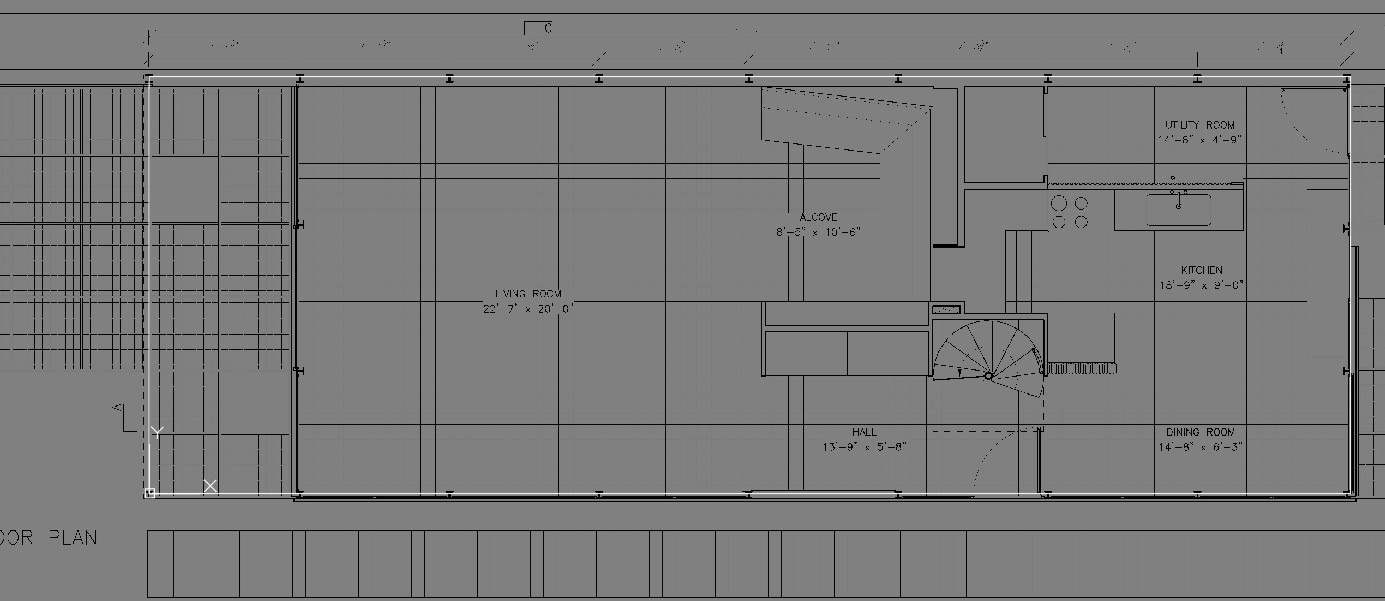 It shows how to move the attached image to align with the building outline that you draw.