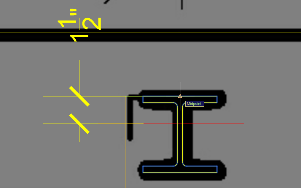 It shows how to move the column in the right location.