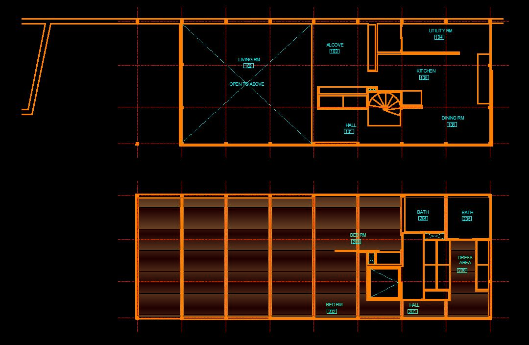 It shows how to copy the room name and number block from the floor plan.