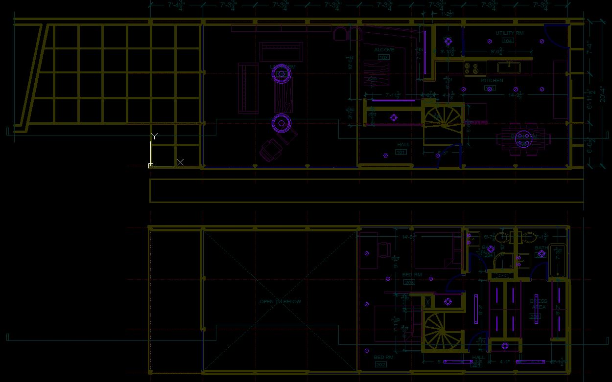 It shows how to place lighting symbols on the floor plan.