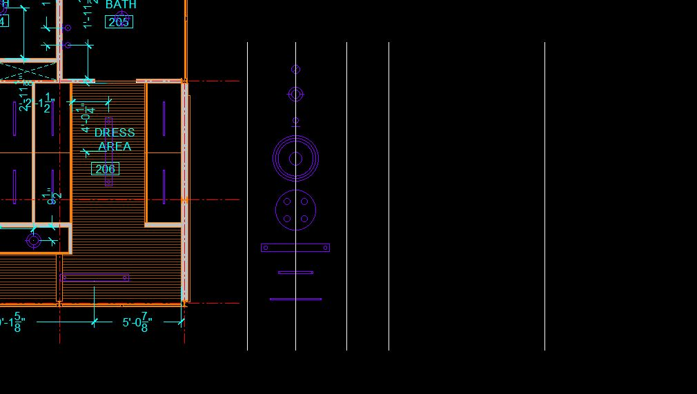 It shows the process to add column lines.